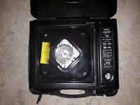 Halfords gas camping stove never used