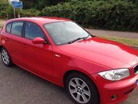 BMW 1 SERIES 116i SE 1.6 Petrol 54 Plate £2100