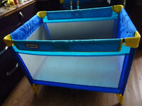 Little Trikes Travel Cot - perfect for holidays/camping/weekends away nanas house
