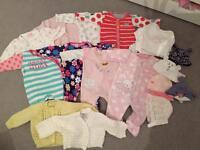Newborn/first size baby girls bundle