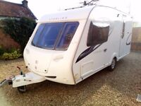 Sterling Eccles Topaz 90th Edition 2009 touring caravan
