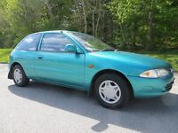 proton persona compact glsi 3 door hatchback only 13300 miles