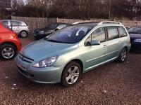 2003 Peugeot 307 SW 1.6 Panoramic Roof! MOT December 2017!ONLY £700!