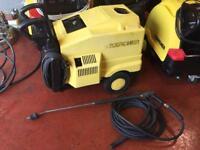 KARCHER HDS 550C HOT COLD PRESSURE WASHER STEAM CLEANER CAR JET TRUCK WASH 240V