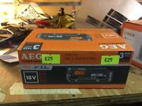AEG 18v 2.5ah battery drill battery new
