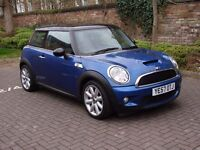 EXCELLENT HOT HATCH ONLY 53000 MILES !! 2008 MINI HATCH 1.6 COOPER S 3dr, LONG MOT, WARRANTY