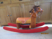 ROCKING HORSE HAND MADE UPCYCLE