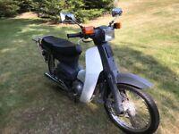 Honda Cub 90 E (RUNNER!)
