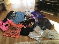 Bundle of girls age 7-8 clothing