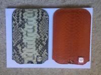 HELMA 100% snake skin pockets