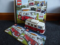 Lego Volkswagen T1 Camper 10220 advanced models, boxed with instructions, vgc, £50