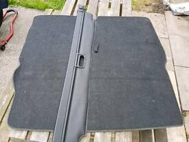 Vauxhall zafira luggage cover n boot mat