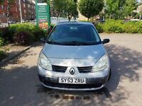 Low mileage 53 plate Renault Scenic Megane 1.4