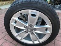 4 x Audi A3 225/45/R17 (J 7.5) wheels