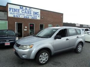 2007 Mitsubishi Outlander LS - 4WD - CERTIFIED