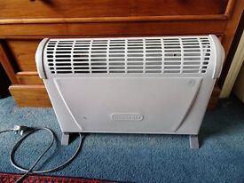 White convector heater by De Longhi. Economical to run and in good working order.