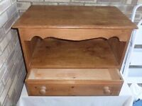Antique Pine TV Stand