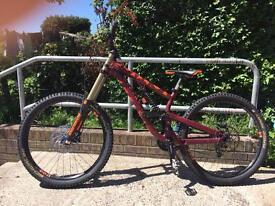 Scott fr 720 27.5 downhill mountain bike