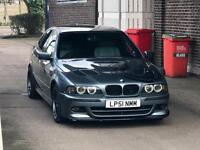 Bmw e39 525i ///M-Sport 51 plate drives perfect M5 look a like quick sale