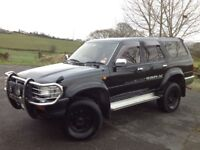 TOYOTA HILUX SURF 3.0 SSR-X LIMITED EDITION AUTO 4X4 BLACK ** MANY EXTRAS!!! **
