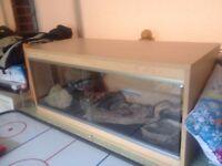 snake or reptiles tank,, full kit ,