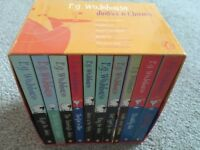 Set of 10 Jeeves paperbacks by PG Wodehouse in boxed sleeve
