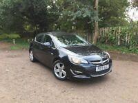2013 Astra 1.4L Petrol SRI 5Dr Black 54k Mileage