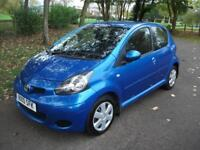 TOYOTA AYGO 1.0 VVT-i + 1 OWNER + FULL S HISTORY + �20 TAX + AUX + CALL 01162149247 (blue) 2010