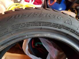 205/55/16 winter tyres