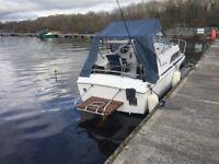 Fairline Diesel Cabin Cruiser Boat Fishing