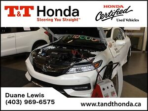 2016 Honda Accord Touring V6*Navi, LED Lights, Heated Seats*