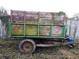 Horse Muck Tipping Trailer For Sale