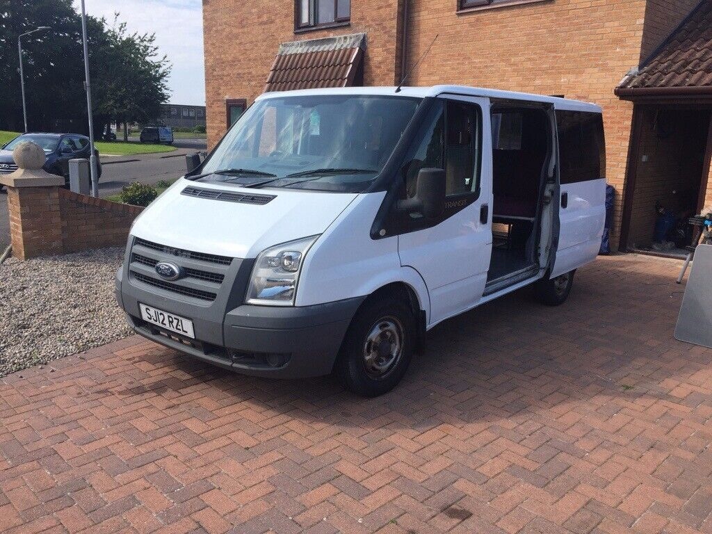 FORD TRANSIT DAY VAN WITH: ROCK N ROLL BED, SWIVEL FRONT PASSENGER SEAT,  SMEV SINK AND STOVE UNIT    | in Ayr, South Ayrshire | Gumtree