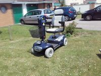 Sterling Sapphire 4 wheel medium size mobility scooter