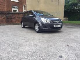 VAUXHALL CORSA 2012. 1.0 LITER PETROL LOW MILEAGE ONE OWNER