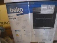 Boxed Beko fan oven