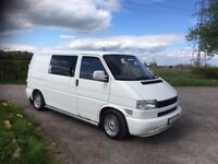 VW Transporter, good condition, MOT until December, rock and roll bed, fuse board, covered seats