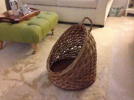 Bread basket/ Log basket/ Cat carrier