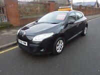 RENAULT MEGANE 1.6 EXPRESSION VVTI NEW MODEL MOTD AUGUST LOVELY CONDITION