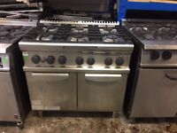 Electrolux 6 Burner Oven Natural Gas/ Stainless steel/commercial £900
