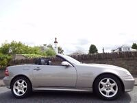 *NOW SOLD* IMMACULATE! 12 MONTH WARRANTY! (03) MERCEDES SLK 230 KOMPRESSOR AUTO Very Low Mileage-FSH