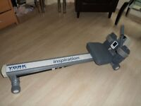 york finest rowing machine-good working order