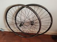 700c wheel set Alex rims Tiagra hubs
