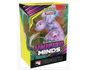 Pokemon TCG Unified Minds Build and Battle Box Prerelease Kit Sun Moon PRESALE