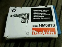 Makita demolition hammer. Brand new