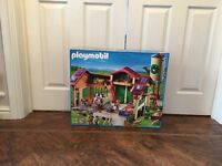 Playmobil 5119 Country Farm Barn with Silo - Brand New