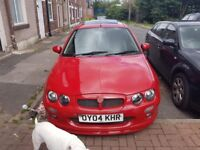 MG ZR 2004 GENUINE 27K 12 MONTH MOT