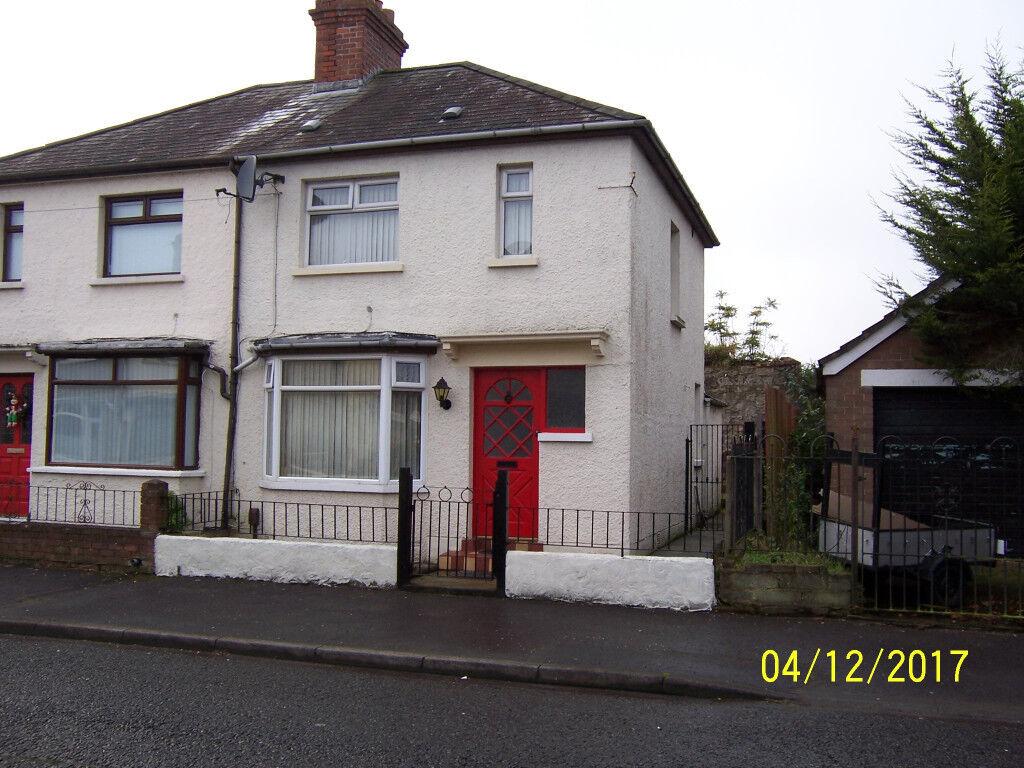 For Sale: Three Bedroom Semi-Detached Villa, 1 Ashdene Drive, off Glandore Avenue, Belfast