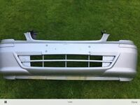 Mercedes Vito front bumper ,silver, ideal for facelift conversion