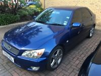 Lexus IS200 SE Auto fully loaded, sat Nav heated seats sunroof leather alloys